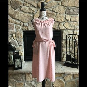 Juicy couture pink and gold dress